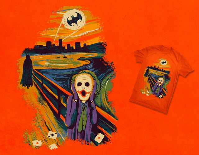 Evil Scream by ben chen on Threadless