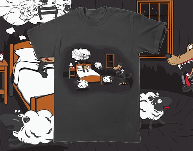 Son, you have a happy dream, i have a happy meal ! by Wilfur on Threadless