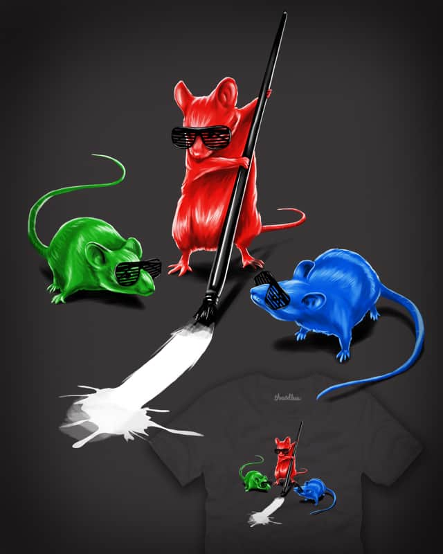 3 Color Blind Mice by tjost on Threadless