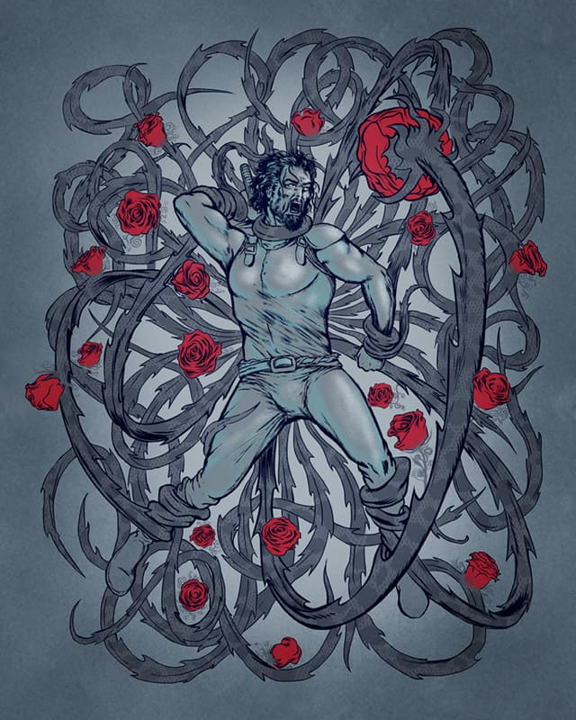 Every Rose has it's Thorn by RicoMambo on Threadless