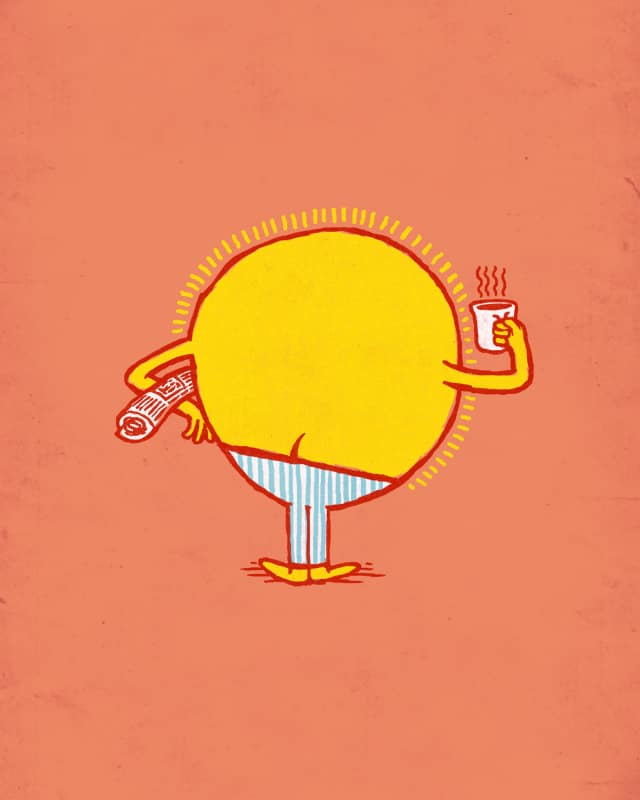 The Crack of Dawn by dschwen on Threadless
