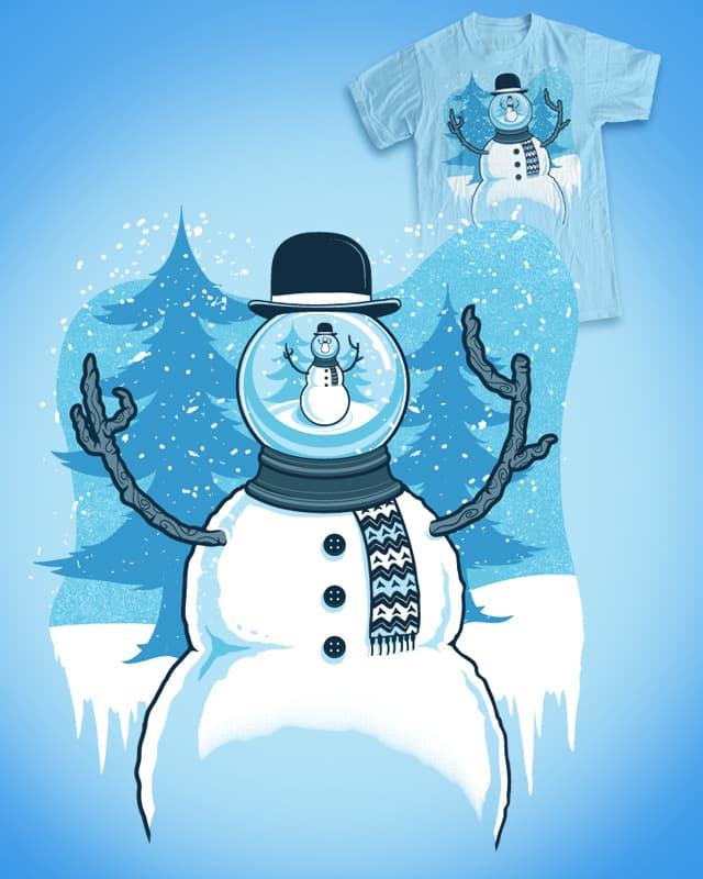 Snow Globe (Redux) by Ste7en on Threadless
