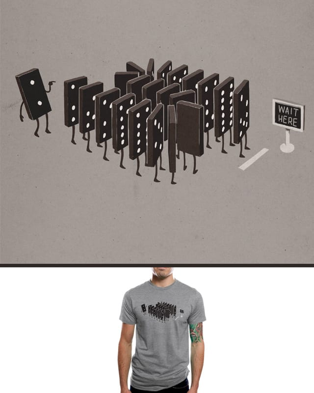 Domino Effect by aled on Threadless