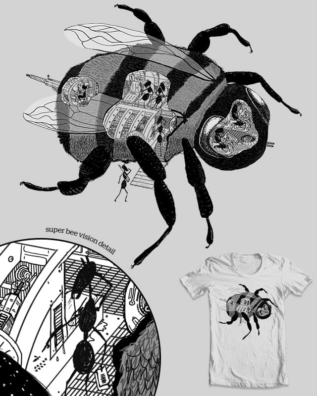 The Hollowed-out Bee Ant Warriors by ellimondo on Threadless
