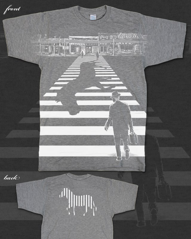 The Zebra's Escape by TangYauHoong on Threadless