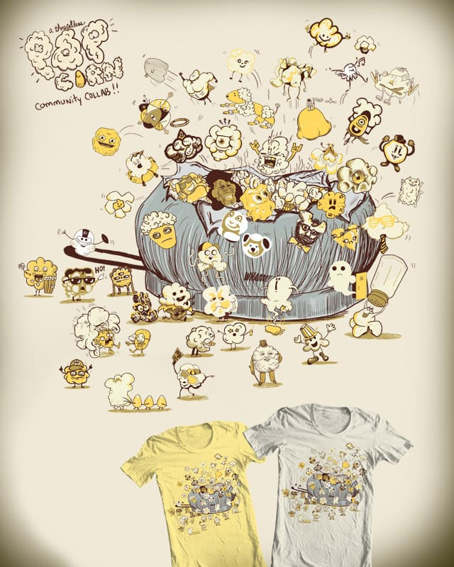 Hot Poppin' Collaboration! by nicholelillian on Threadless