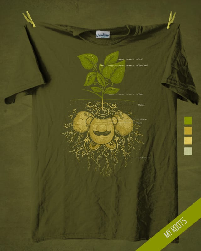 My Roots by walmazan on Threadless