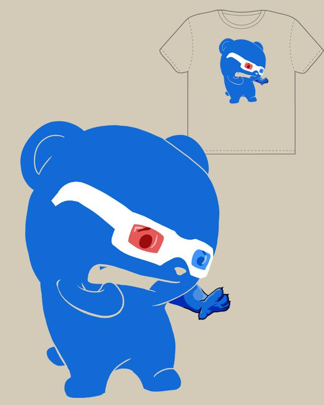 Now in 3D!! by R3D FOX on Threadless