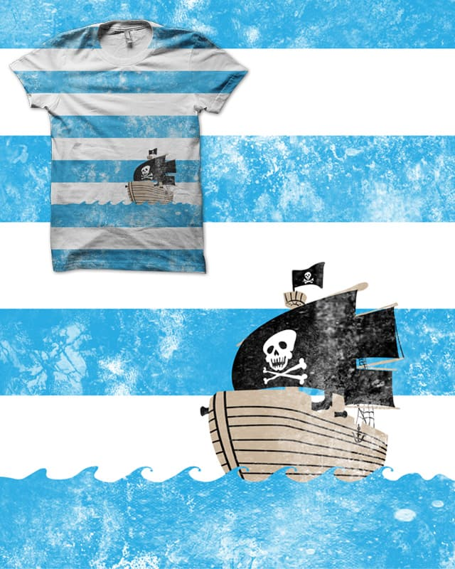 Pirates love Striped shirts by biotwist on Threadless