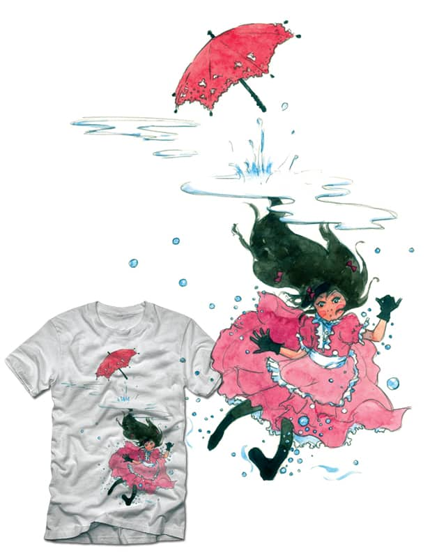 Playing In Puddles by yeshchatte on Threadless