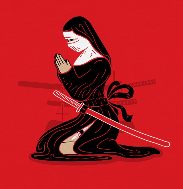 Nunja by Andreas Mohacsy on Threadless