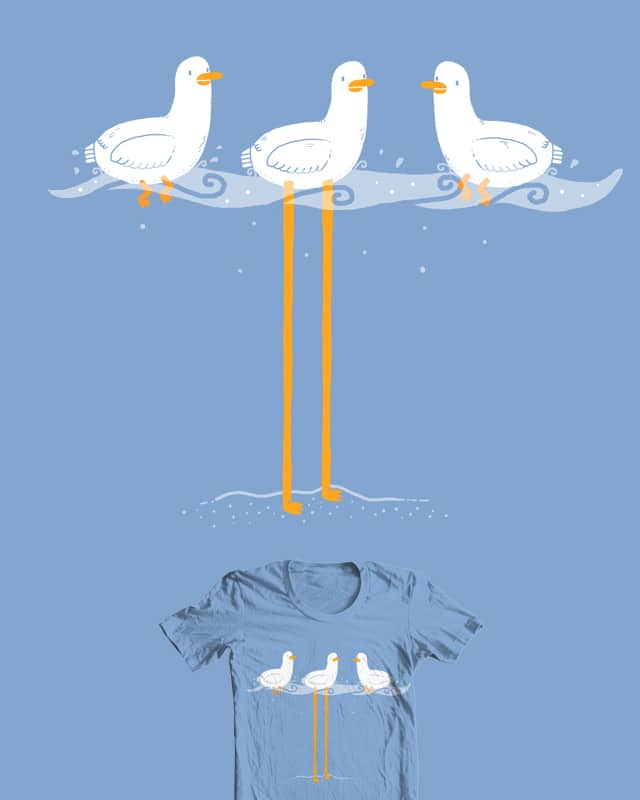 I don't float by randyotter3000 on Threadless