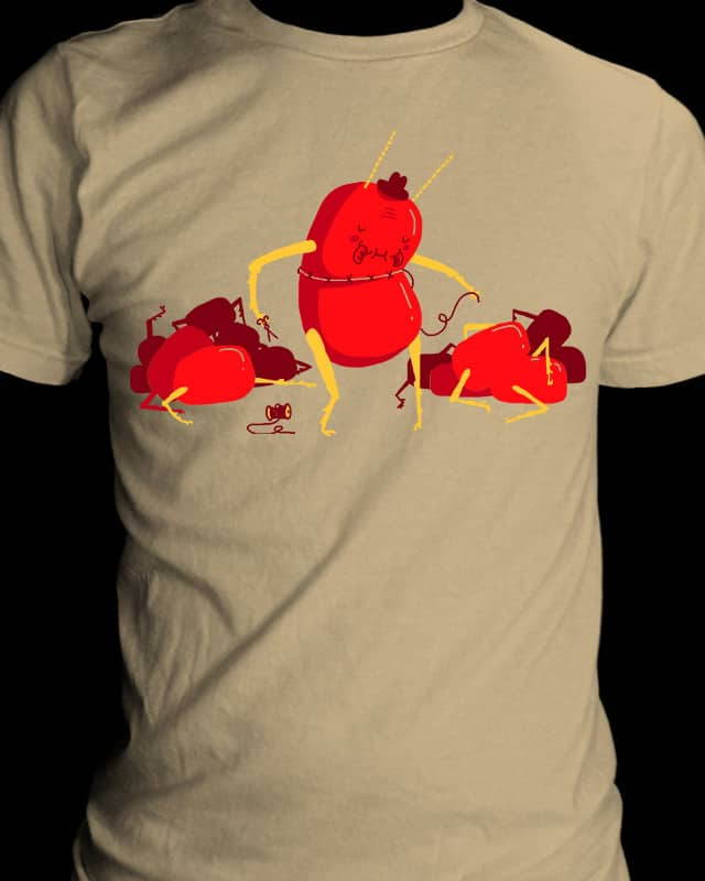 Centipede Human by BurritoGoblin on Threadless