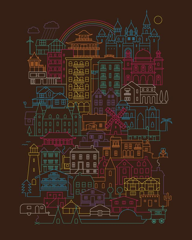Home Sweet Home by ThePaperCrane on Threadless