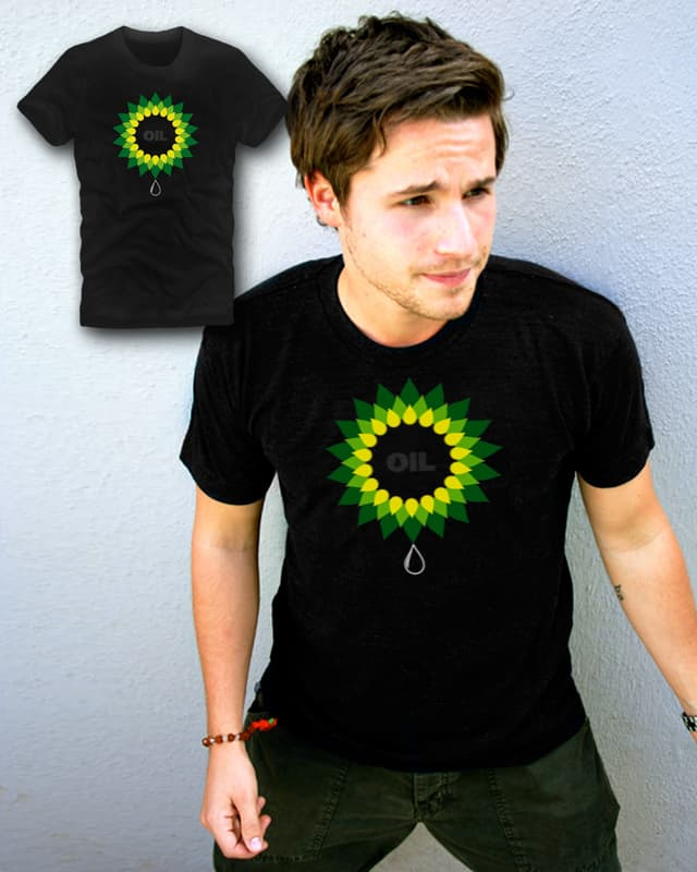OIL by appledesignerboy on Threadless