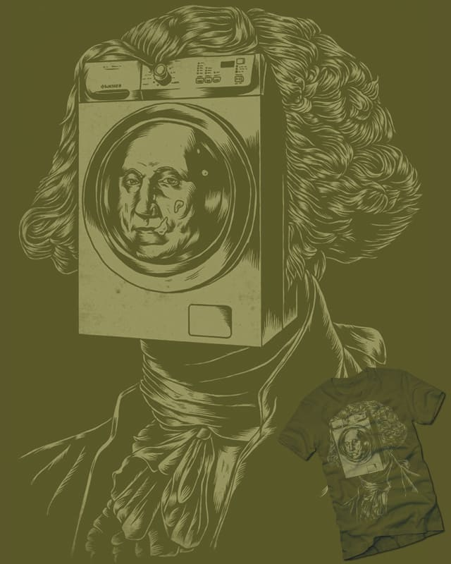 George WASHINGton Machine by polynothing on Threadless