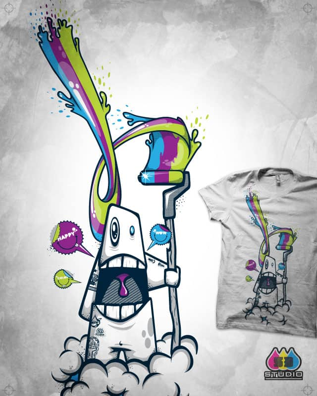 paint a rainbow v2 by S-3 on Threadless