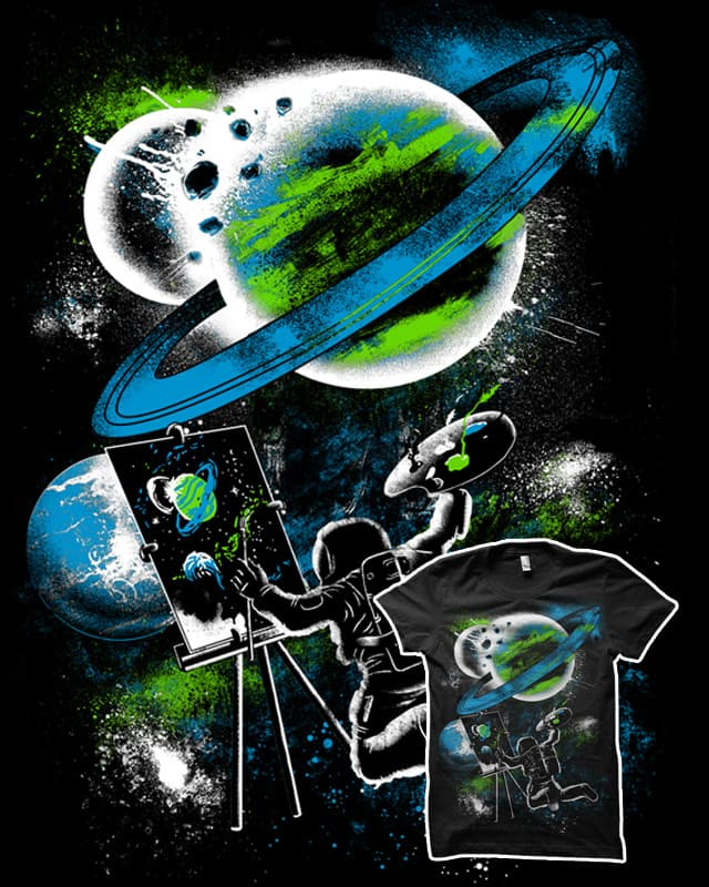 Space Art by biotwist on Threadless