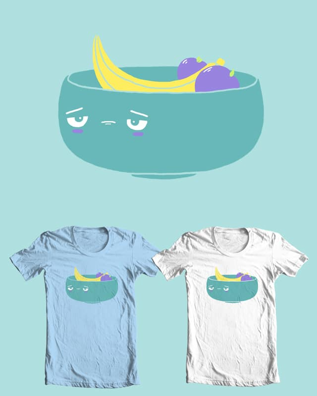 A banana and two big plums by randyotter3000 on Threadless