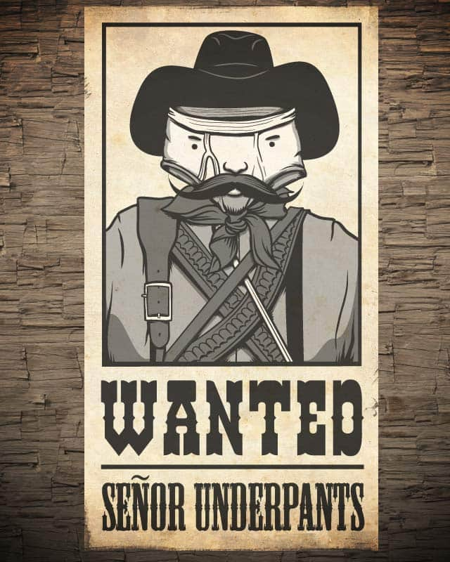 Señor Underpants by andyhunt on Threadless