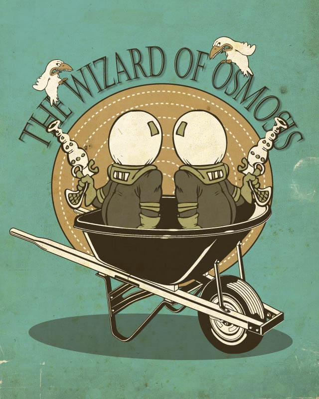 the wizard of osmosis by edgarscratch on Threadless