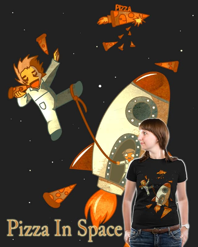 Pizza In Space by jalisha on Threadless