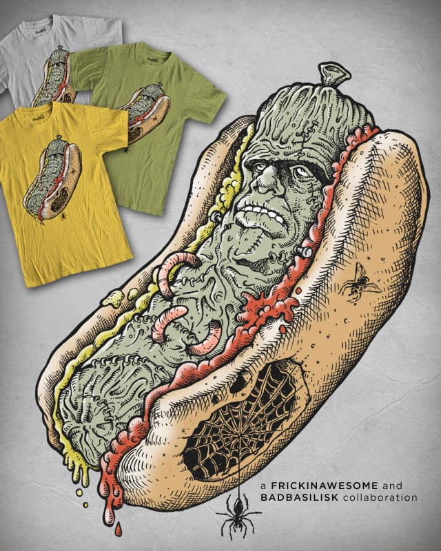 FRANKenstein by badbasilisk on Threadless