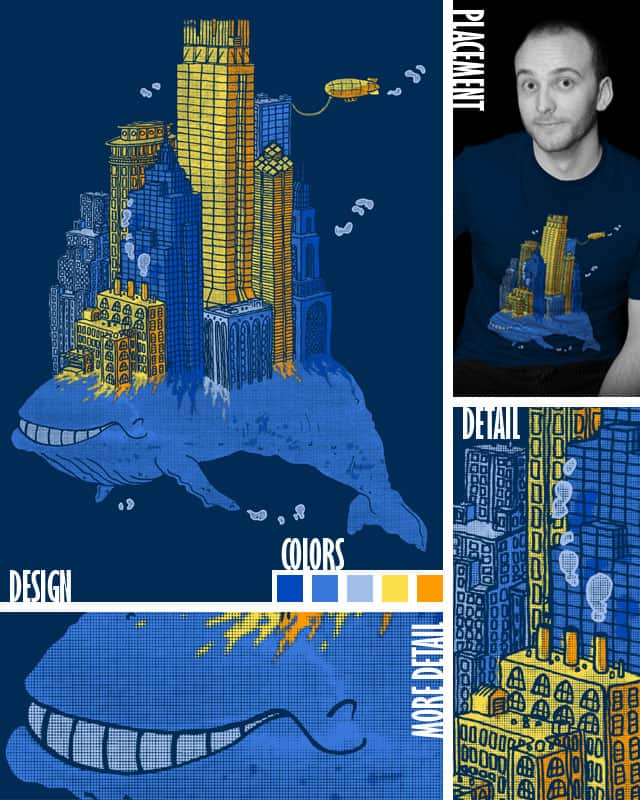 Marine Metropolis by BrendanZoetrope on Threadless