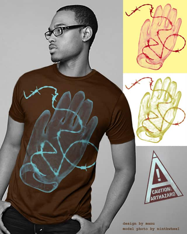 Don't Play with Wire by Manupix on Threadless