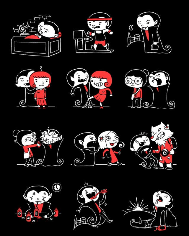 A Night in the Life by queenmob on Threadless