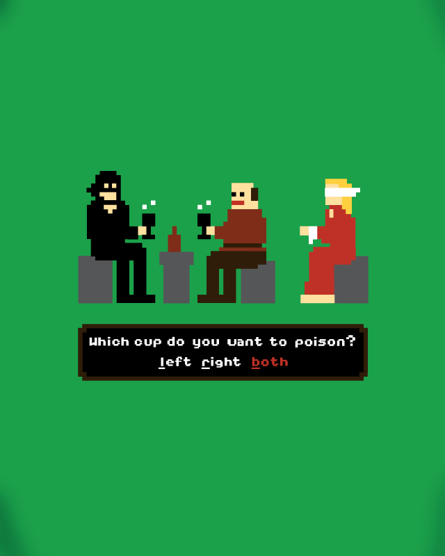 INCONCEIVABLE QUEST! by nathanwpyle at gmail.com on Threadless