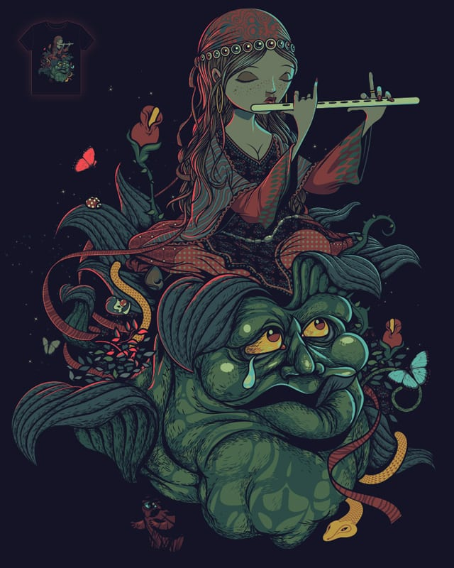 THE MUSIC OF THE NIGHT by PUHL on Threadless