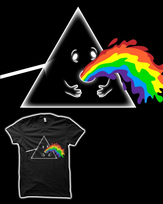 Barf side of the moon by biotwist on Threadless