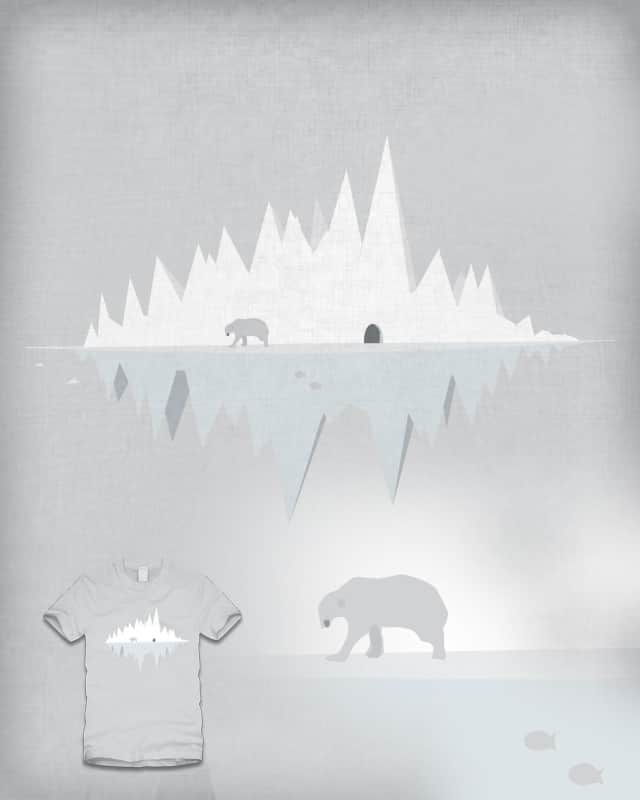 What a lonely polar bear. by huddyyeo on Threadless
