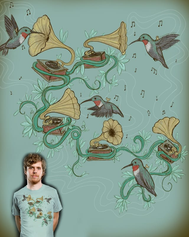 Phono & Fauna by nicholelillian on Threadless