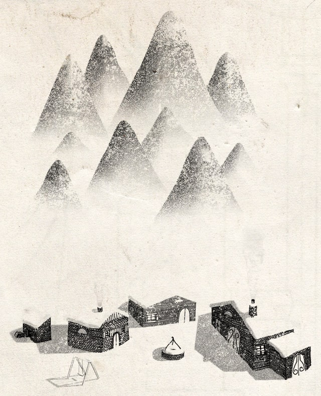 The Village by speakerine on Threadless