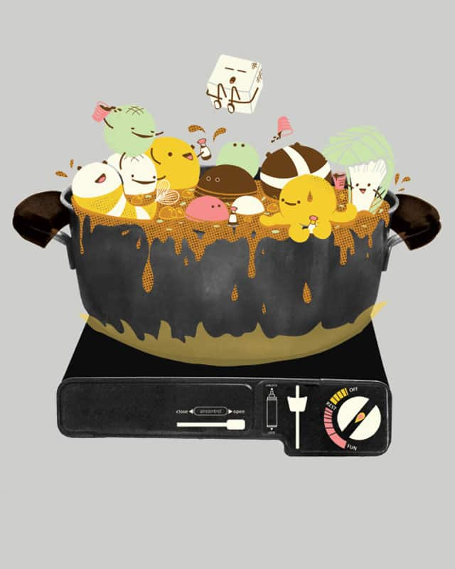 Hot Pot Party!! by MissYu on Threadless