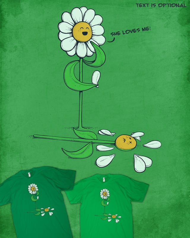 She loves me! by Naolito on Threadless