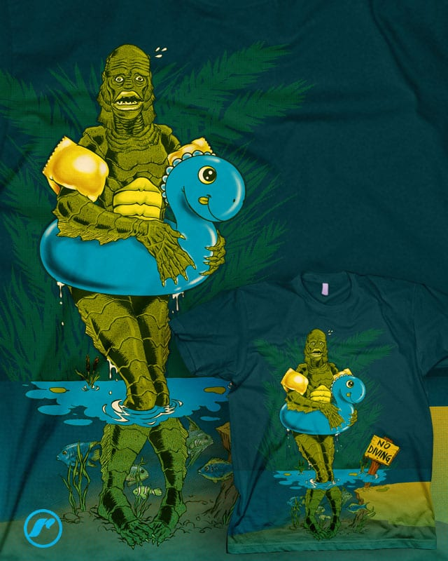 Creature from the Shallow Lagoon by RazCity on Threadless