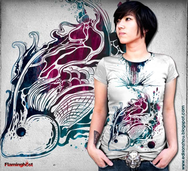 liquid beauty by flaminghOst on Threadless