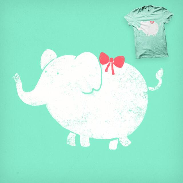 White Elephant by the Sleeping Sky on Threadless