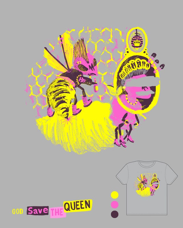 God save the Queen. by macn on Threadless