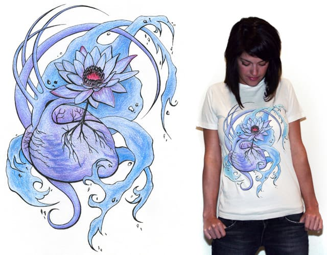 Growth from the heart by Shegan on Threadless