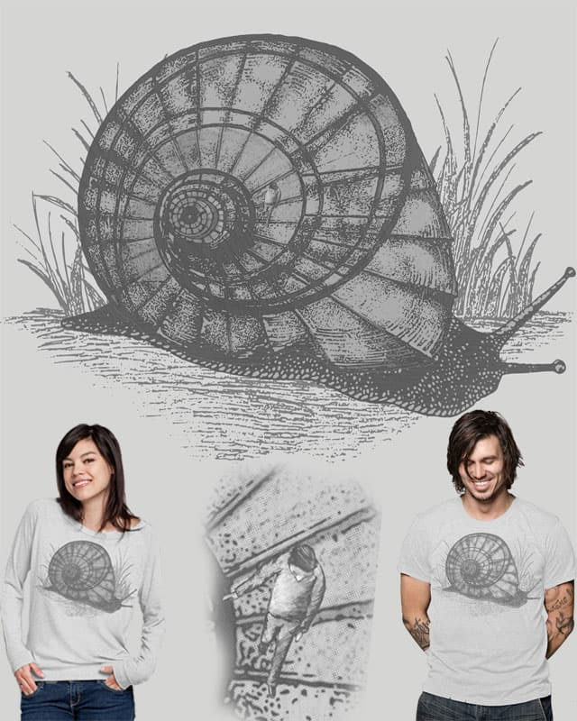 Snail Stairs by ArTrOcItY on Threadless