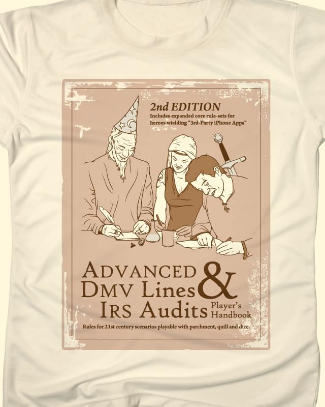 Advanced DMV Lines & IRS Audits by andyhunt on Threadless