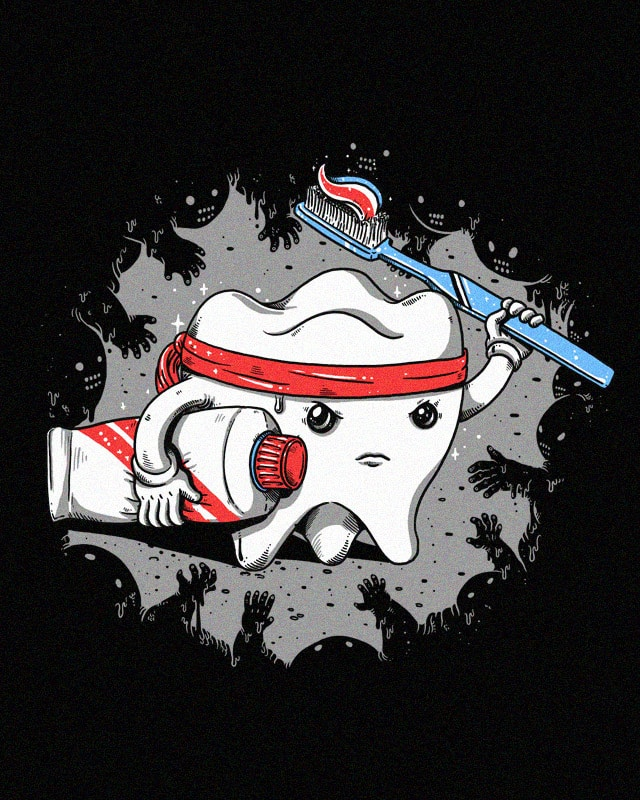 Clean tooth by alexmdc on Threadless