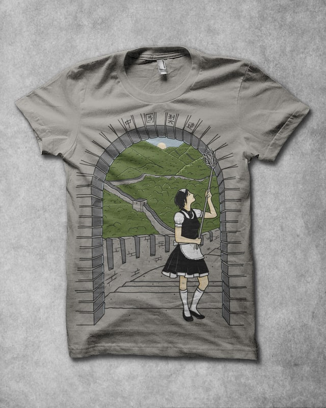 Maid in China by Mosquito88 on Threadless