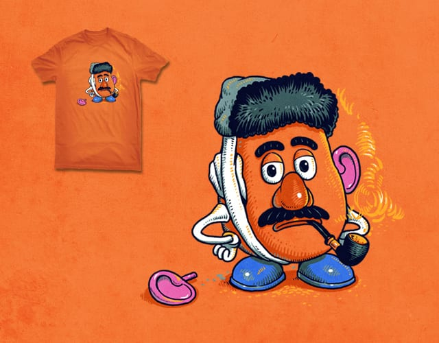 Left Ear of Mr. Potato Head by ben chen on Threadless