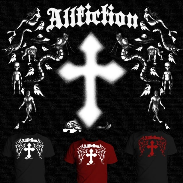 Affliction for fiction by Milfrideo on Threadless