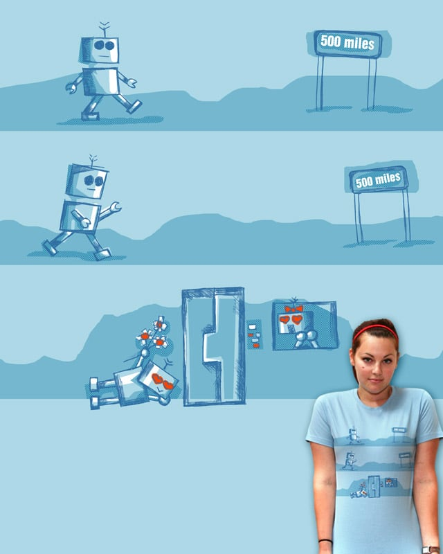 The Bot that walk a 1000 miles by JessyQueChido on Threadless